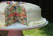 Cake, cheesecake, frosting