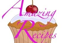 Amazing Recipes / Pins of recipes from the Amazing Recipes Facebook Page https://www.facebook.com/amazingawesomerecipes Pinning to the board is pretty much restricted to admins of the group and by special invitation only.  Sorry.