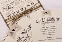 Invitations / Wedding and Party Invitaion Ideas