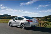 Subaru Legacy / The Subaru Legacy. It's not just a sedan. It's a Subaru.