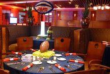 Bar Mitzvah Theme : Football / Football theme Bar Mitzvah Ideas