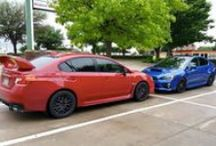 #ItsaSubieThing / Subarus parking next to other Subarus! / by Subaru
