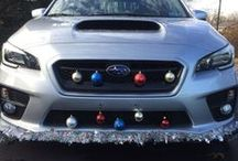 #WRXmas / Holiday-decorated Subies! Show us how you decorate your Subaru for the holidays using #WRXmas. / by Subaru