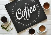 Coffee bar / Create at in-home Coffee bar with these ideas. Set up your espresso bar at home using some of these decor and art ideas!