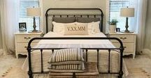 Bedroom Ideas / Ideas and inspiration for decorating your bedroom. Bedding, pillows, artwork and other bedroom accessories.