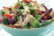 Salad Recipes / Tons of recipes for delicious and healthy salads.