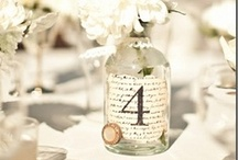 Table Numbers / wedding, table numbers, decorations / by On the Go Bride