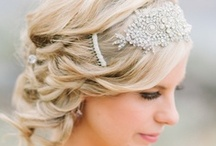 Hair Adornments / wedding accessories, hair pieces, shoes, jewelry  / by On the Go Bride