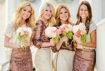 Bridesmaids / This board is full of inspiration for your bridal party. Tons of ideas and gorgeous bridesmaid dresses for your to look through. / by On the Go Bride