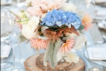 Centerpieces / wedding centerpieces, flowers, decorations / by On the Go Bride