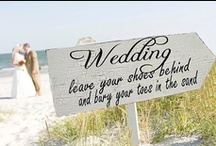 Signage & Banners / wedding, signs, banners, here comes the bride / by On the Go Bride