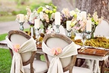 Tablescapes / wedding, decorations, tablescapes, centerpieces, table settings / by On the Go Bride