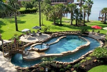 Pools / Ideas for large pool(s) that are an alternative to the traditional in -ground forever you take care of pool.