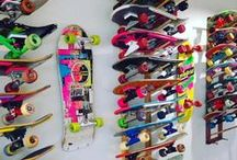 Skateboarding & Skate Racks / Check out the best ways to display and store your skateboards.  We have the best selection online.