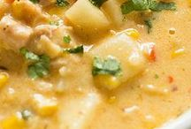 Soup's On! / Soups and Stews that warm the tummy