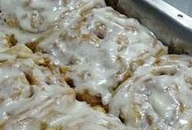 Breakfast Sweets   / Coffeecakes ~ Sweet Rolls ~ Doughnuts ~~~ All the goodies we love in the morning and all through the day. I have a separate board for muffins and scones. There is also a separate board for quick breads.