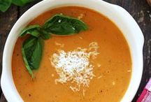 """soup.  / """"You can't eat this soup standing up, your knees buckle."""" - Jerry, in """"The Soup Nazi"""" / by Megan Faulk"""