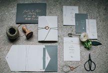 Crème de Papier >  Mariage / Wedding :: Papeterie / Stationery / Save the date / Faire-part / Carton d'invitation / Carton RSVP / Remerciement ~> Papeterie personnalisée sur mesure / Custom personalized stationery