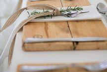 :: Løve TABLES / DECØ TABLES :: / Agencement et décoration de table pour vous et vos invités... Ce que Crème de Papier aime....
