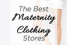 MATERNITY STYLE / Maternity Fashion - The Best Maternity Clothing Stores - There are so many options for Maternity Fashion and stylish Maternity Wear. These are some of my favorite Maternity Styles.