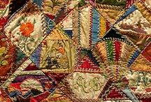 Crazy Quilt stitches / by Mary-Frances Main