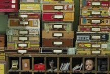 storage / by Susan Skinner