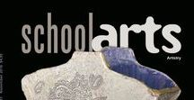 SchoolArts Magazine Covers / SchoolArts is a national art education magazine committed to promoting excellence, advocacy, and professional support for educators in the visual arts since 1901. Click on each cover to link over to the corresponding digital edition. #arteducation, #arted