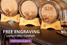 Bar & Cigar Related Groomsmen Gifts / Whether he loves is beer, wine, hard liquor or even the occasional cigar, we offer a wide selection of gifts that are sure to please even the pickiest groomsman.