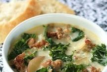 Soups, Stews and Chilis / You'll always have an idea for warming up cold nights. Follow this board for the best potato soup, chicken soup, chowder, chili, beef stew, and more.
