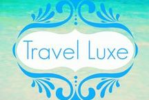 Travel: A little Luxe / Always dreamt of a luxurious destination or travel experience. Well get inspired. This is not backpacking on a beer budget! / by Michelle // Gee You're Brave