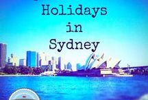 School Holidays in Sydney #schoolholidays / Are you a Sydneysider or just visiting and looking for things to do with the kids. Here are a great collection of ideas / by Michelle // Gee You're Brave