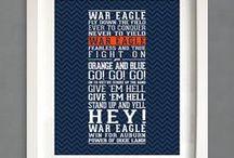 War Damn Eagle!! / by Emmanuelle Dickerson
