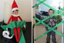 Elf on a shelf mischief- Christmas 2013