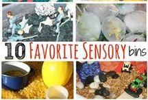 Sensory Play Examples