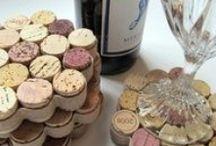 DIY * Wine Cork Crafts
