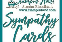 Sympathy / Thinking of You Cards / Sympathy / Thinking of You Cards and Paper Crafts made by Stampin' Hoot! with Stampin' Up! Products. Stesha Bloodhart http://www.stampinup.net/esuite/home/stampinhoot/