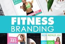 Fitness Branding / Whether it's Fitness Branding, Personal Branding, Brand Building, Brand Identity, or Brand Marketing, we provide services for Fitness Industry Businesses and Personalities to help them grow their business online