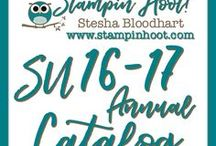Stampin' Up! 2016-2017 Annual Catalog / You can find all items in my store and shop with me here:  http://www.stampinup.com/ECWeb/default.aspx?dbwsdemoid=2161984