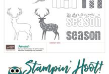 Merry Patterns Stamp Set by Stampin' Up! / Sept 1st - Oct 31st 2017 Earn the Merry Patterns Stamp Set by Stampin' Up! Free with a $300 Purchase or Party! See details at Stampin' Hoot!  #merrypatterns #stampinup #stampinhoot #christmasstamps #papercrafts #cardmaking