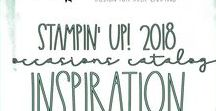 Stampin' Up! 2018 Occasions & Sale-A-Bration Catalog / Handmade Cards, Scrapbook Pages, Home Decor, Party Decor, Paper Crafts created with items from the 2018 Occasions and Sale-A-Bration Catalogs! Stampin' Hoot!  Stesha Bloodhart #2018OccasionsCatalog #2018SaleABrationCatalog #stampinup #steshabloodhart #stampinhoot