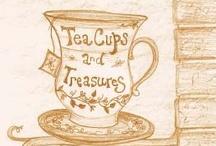 tea time, l'heure du thé