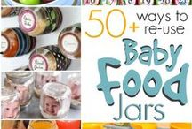 Baby Food Jar Ideas Crafts & Uses / Uses for baby food jars. DIY, crafts, storage, repurposing and more. / by Jenn Peters | Because I'm Cheap