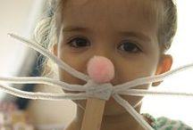 Craft ideas for Preschool Children / Share your craft ideas and sensory activities for preschool aged children 0-5 years old