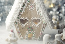 Gingerbreadhouses / Once a year we make that gingerbreadhouse!