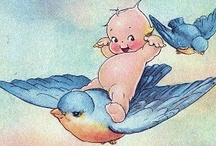 Vintage Illustrations / Please join me in pinning your favourite illustrations from days gone by..