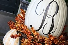 Fall & Halloween Decor / dress up the house year round