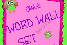 Vocabulary / by Emily ~