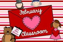 February (Classroom) / Fabulous and (mostly) FREE seasonal resources for your classroom in February!