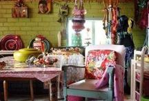 Creative & Colorful Decor & Houses / Colorful and creative decorating and homes.