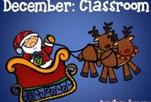 December (Classroom) / Seasonal (mostly FREE!) resources and ideas for your K-5 classroom!
